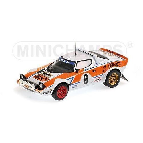Minichamps Model lancia stratos rally bic #8 livieratos/manolis acropolis rally 1978 + darmowy transport!
