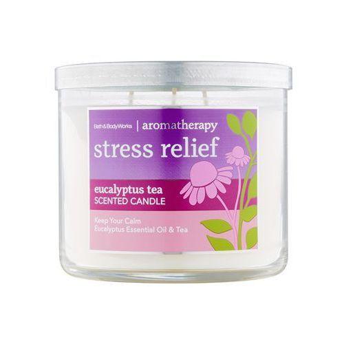 Bath & Body Works Stress Relief Eucalyptus Tea 411 g świeczka zapachowa (0667542766551)