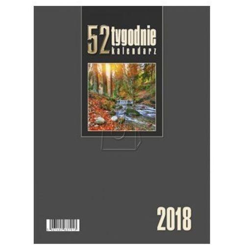 Kalendarze Kalendarz biurkowy pionowy 52t bordowy 2017 (5901497639276)