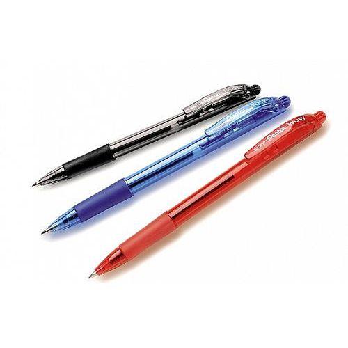 Pentel Długopis automatyczny wow bk417 czerwony