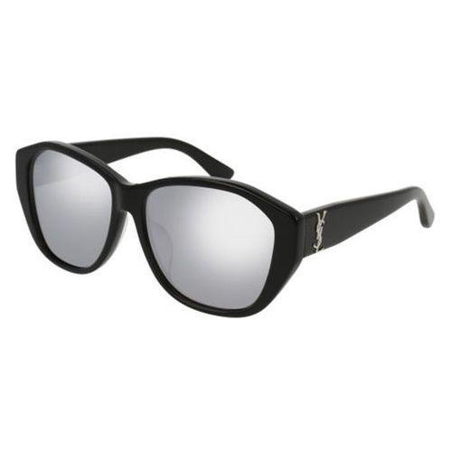 Okulary Słoneczne Saint Laurent SL M8/F Asian Fit 002