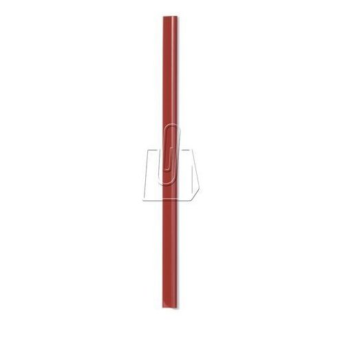 Durable Grzbiet zaciskowy a4 szer.13mm gr. 3mm na 30 kartek czerwony 100 sztuk 2900 03