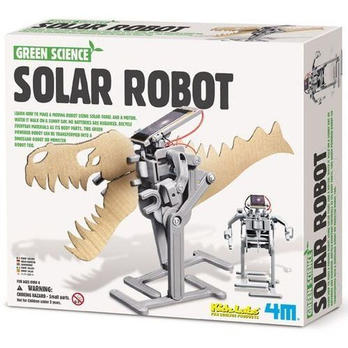 Green science robot solarny marki 4m