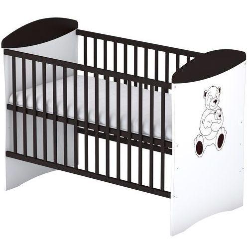 Sun baby drewniane łóżeczko baby sky panda, wenge 105