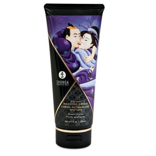 Shunga (can) Shunga - exotic fruits kissable massage cream 200 ml, kategoria: żele erotyczne
