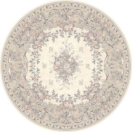 Dywan Agnella Isfahan Dafne Alabaster (koło) 200x200