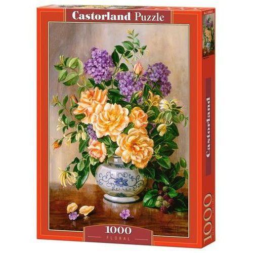 Puzzle 1000 floral - castor od 24,99zł darmowa dostawa kiosk ruchu marki Castorland