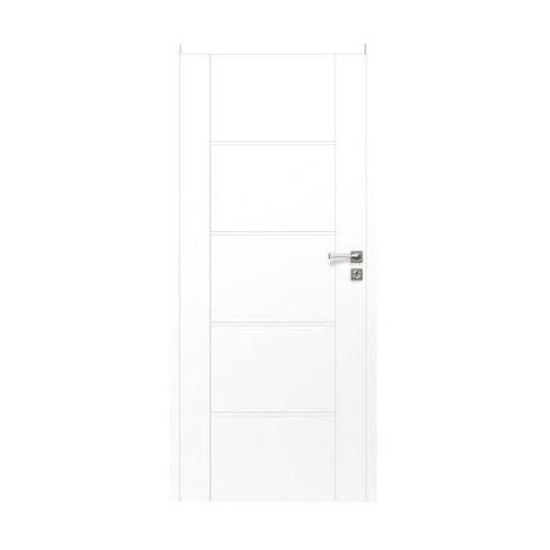 Skrzydło drzwiowe bezprzylgowe MALIBU White 70 Lewe ARTENS
