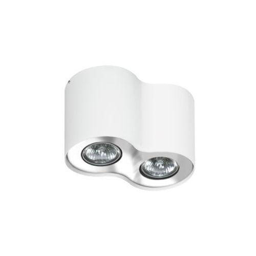 Azzardo Plafon lampa sufitowa neos 2 fh31432b wh/ch natynkowa oprawa regulowana spot biały