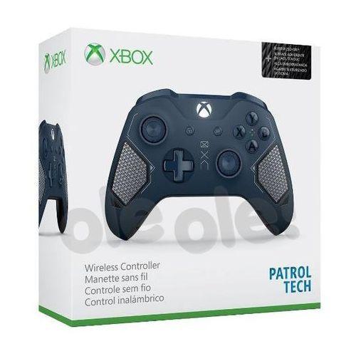 Microsoft Xbox One S Kontroler bezprzewodowy Patrol Tech - produkt w magazynie - szybka wysyłka!, WL3-00073