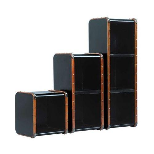 Authentic models półka captain' stacking l, kolor czarny mf216