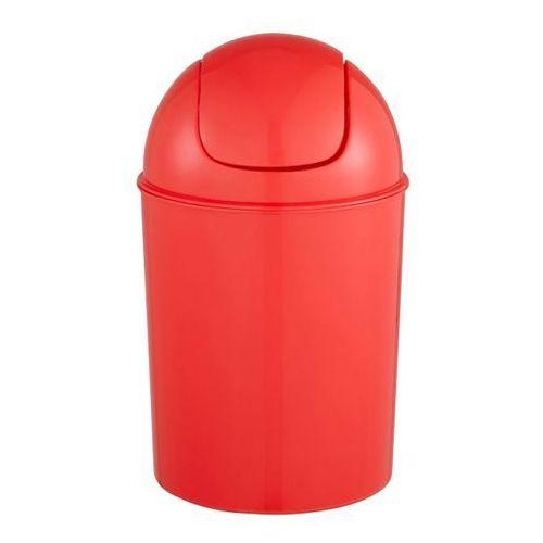 Kosz łazienkowy Cooke&Lewis Palmi 5 l czerwony (3663602962403)