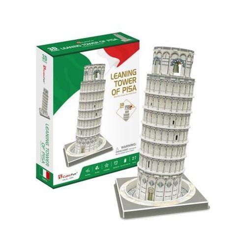 Puzzle 3d krzywa wieża w pizie 27 części marki Cubic fun