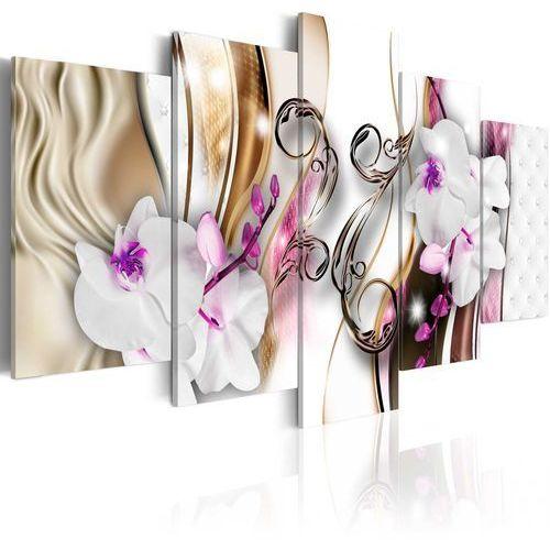 Obraz - Orchidee: różowe kwiaty
