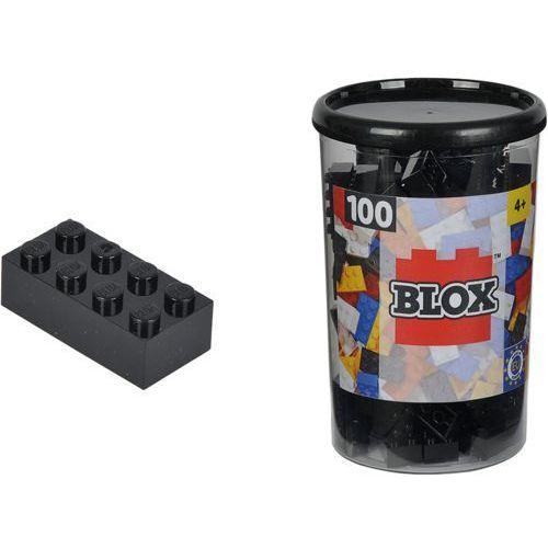 Blox Klocki 100 ELEMENTÓW Czarne - Simba Toys