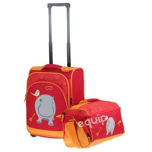 Walizka dziecięca + torba  youngster hipopotam - hipopotam marki Travelite