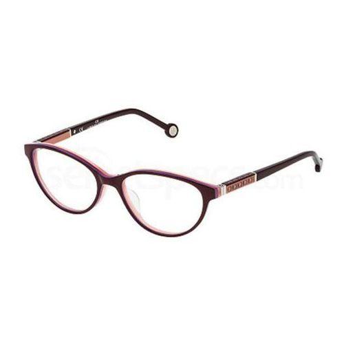 Carolina herrera Okulary korekcyjne vhe671 0m56
