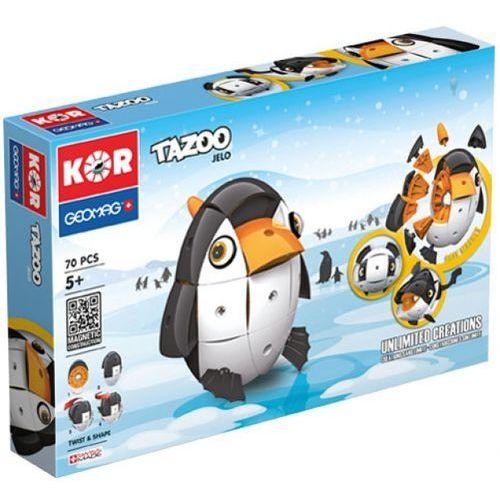 Klocki konstrukcyjne Geomag KOR - Tazoo Jelo 70 elementów 0871772006039