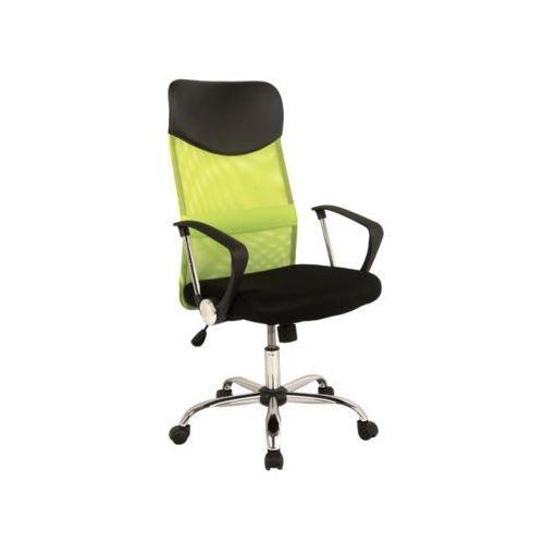 Fotel obrotowy, krzesło biurowe q-025 green marki Signal