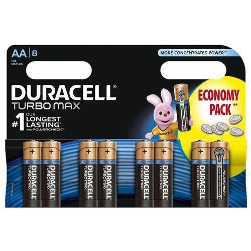 8 x bateria alkaliczna  duralock turbo max lr6/aa (blister) marki Duracell