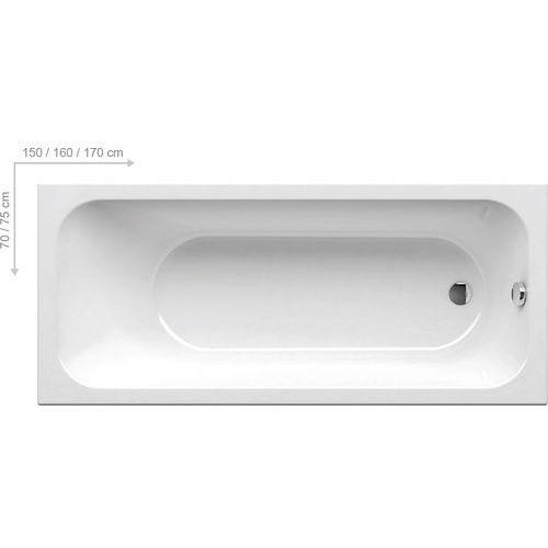 OKAZJA - Ravak Chrome 170 x 75 (C741000000)