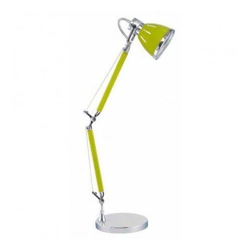 Stojąca LAMPA stołowa JERONA 7050109 Spotlight regulowana LAMPKA biurkowa oliwkowa (5901602330432)