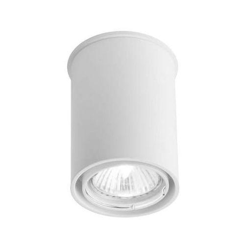 Spot LAMPA sufitowa OSAKA 1119/GU10/BI Shilo natynkowa OPRAWA tuba DOWNLIGHT biały, kolor Biały