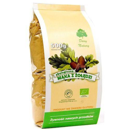 Mąka z żołędzi EKO 500g DARY NATURY (5902768527087)