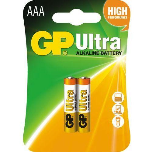 GP Batteries bateria AAA (2szt.)Ultra Alkaline (4891199027642)