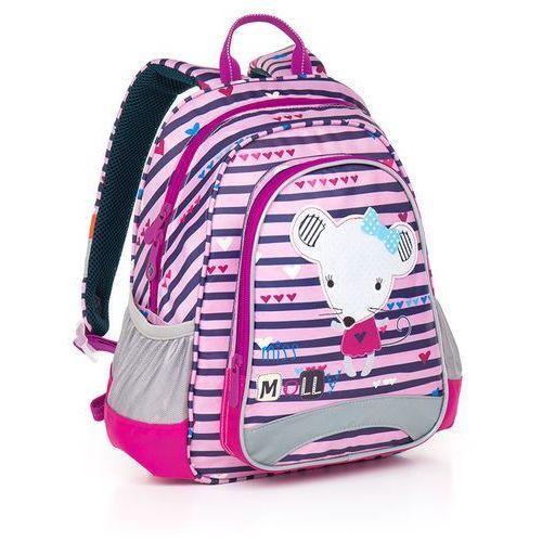 Topgal Plecak do przedszkola  chi 838 h - pink, kategoria: tornistry i plecaki