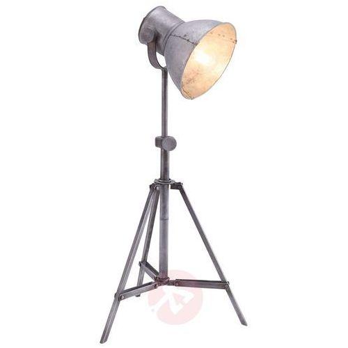 Leuchten-Direkt SAMIA Lampa Stojąca Siwy, 1-punktowy - Przemysłowy - Obszar wewnętrzny - SAMIA - Czas dostawy: od 6-10 dni roboczych