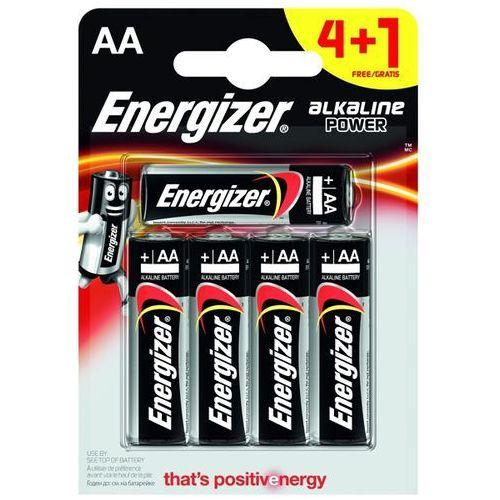 Energizer 4+1 x bateria alkaliczna alkaline power lr6/aa (blister) (7638900414974)