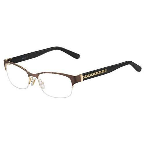 Okulary korekcyjne 128 16s marki Jimmy choo