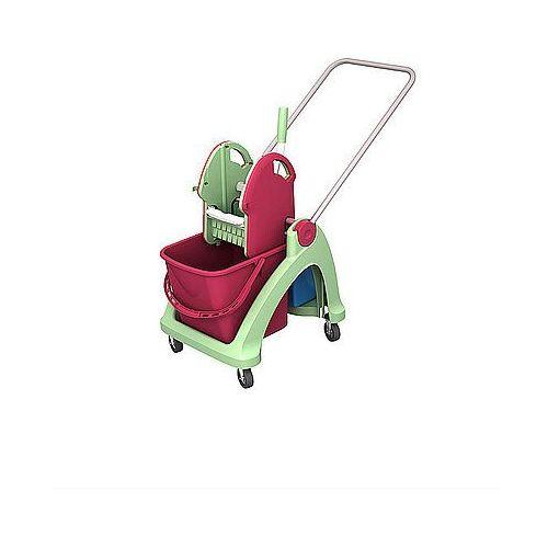 Wózek pojedynczy antybakteryjny z tworzywa sztucznego Splast TSA-0001