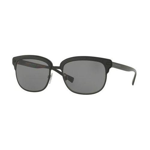 Okulary słoneczne be4232 mr. burberry polarized 3464t8 marki Burberry