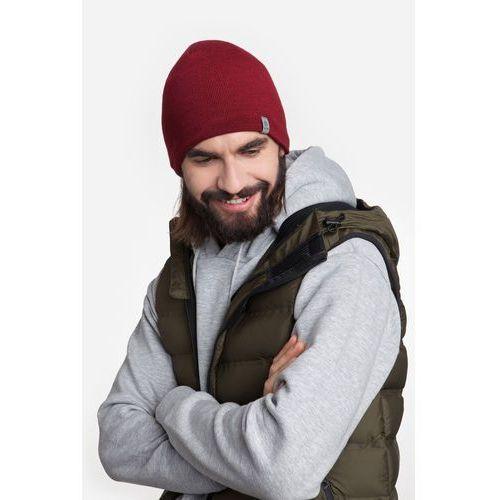 Męska czapka zimowa 17001/1 PaMaMi - Czarny, kolor czarny