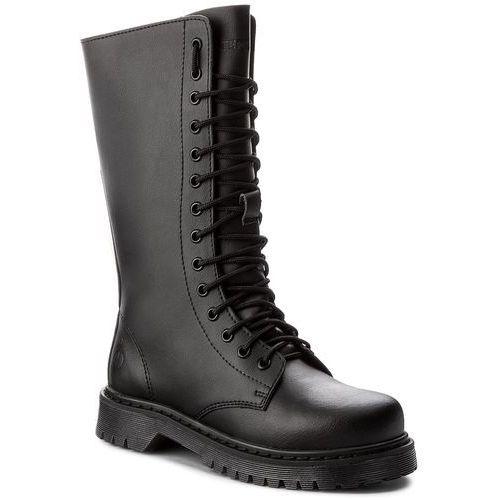 Glany ALTERCORE - 652 Black, kolor czarny