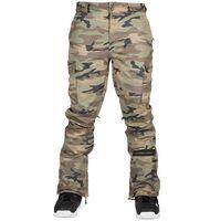 Spodnie - squadron printed pant green camo (grc) marki Sessions