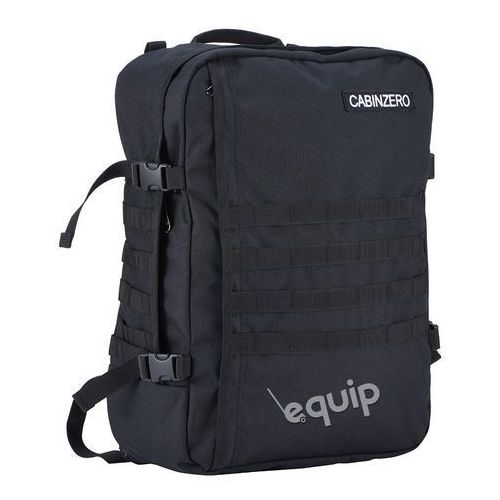 Plecak torba podręczna CabinZero Military + pokrowiec organizer gratis - czarny, kolor czarny