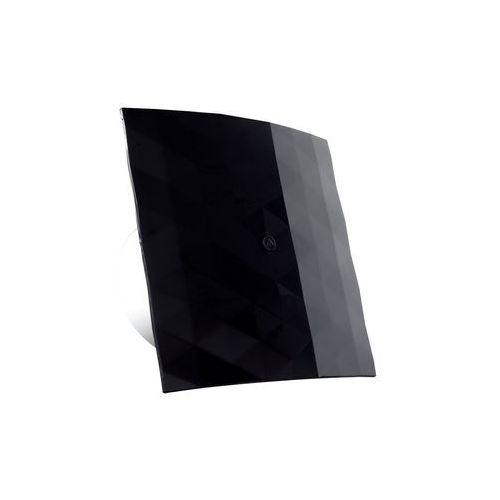Wentylator łazienkowy Dospel Black&White 100 WC 007-4332_B czarny domowy ścienny / sufitowy z wyłącznikiem czasowym (5901560517470)