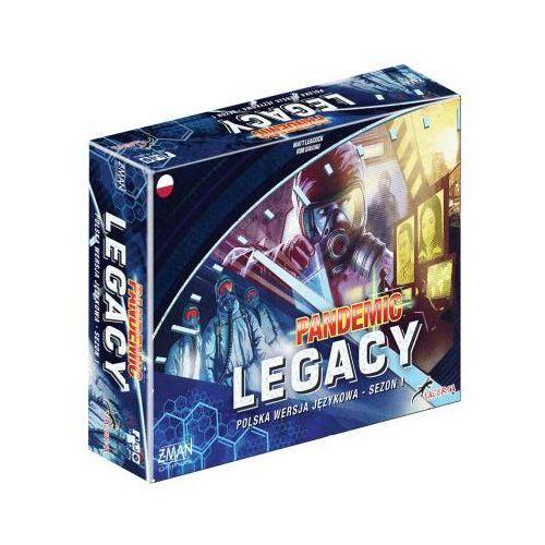 Lacerta Pandemic legacy (pandemia) - sezon 1 edycja niebieska