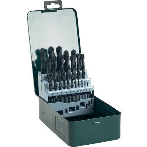 Zestaw wierteł do metalu BOSCH HSS-R 1-13 mm (25 elementów) + Zamów z DOSTAWĄ JUTRO! + DARMOWY TRANSPORT!, Promoline