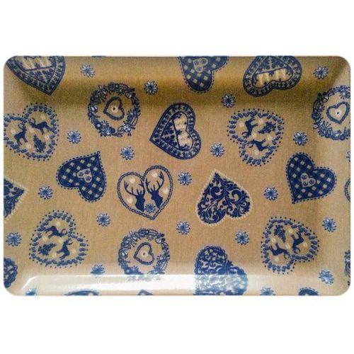 Taca VIVENZI Blue Heart (45 x 31 cm)