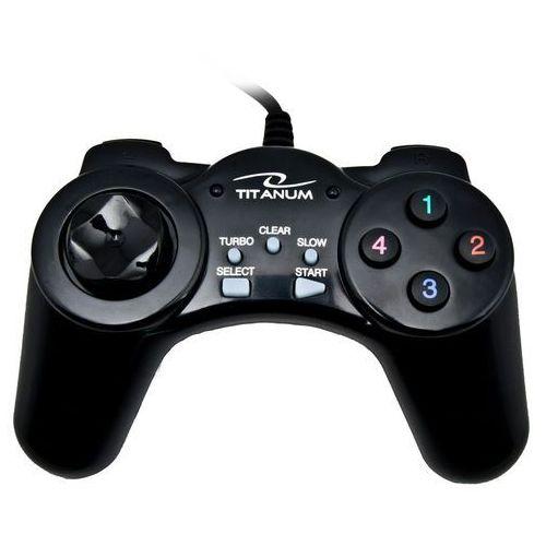 Titanum GAMEPAD TG105 Przewodowy USB DO PC z kategorii Gamepady