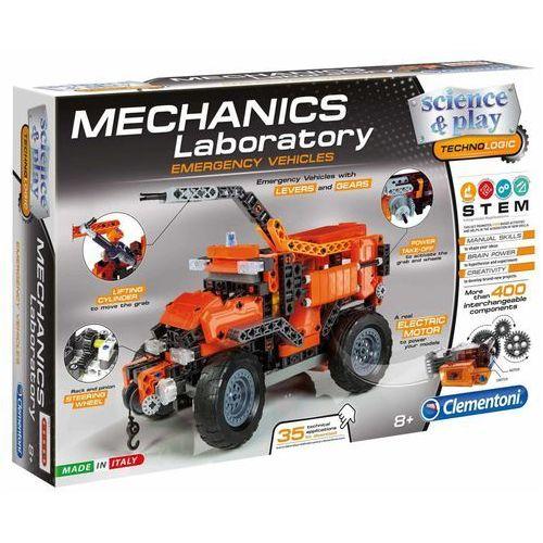 Clementoni Zestaw klocków Science & Play Mechanics Laboratory, 66827 Darmowa wysyłka i zwroty