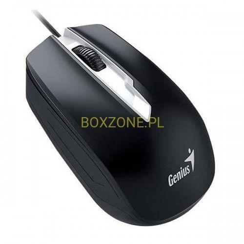 Genius Mysz DX-180, optyczna, 3kl., 1 scroll, USB, czarna, 1000DPI, 31010239100