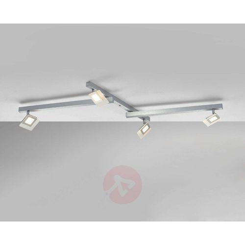 Bopp LINE lampa sufitowa LED Aluminium, 4-punktowe