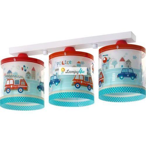 Klik 60613 - Lampa sufitowa dziecięca POLICE 3xE27/60W/230V. Najniższe ceny, najlepsze promocje w sklepach, opinie.