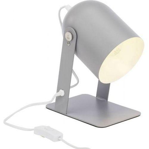 Brilliant yan lampa stołowa siwy, 1-punktowy - nowoczesny - obszar wewnętrzny - yan - czas dostawy: od 6-10 dni roboczych (4004353290695)