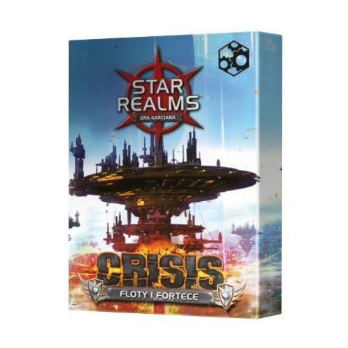 Games factory publishing Star realms: crisis floty i fortece